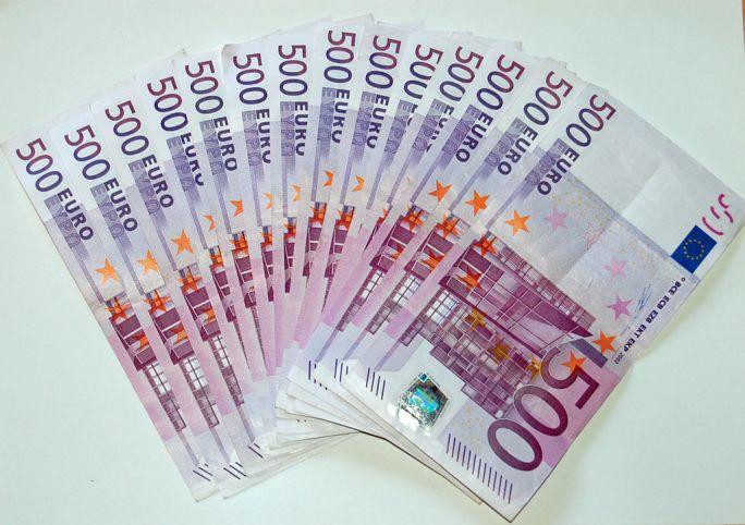 500 Euro Banknoten