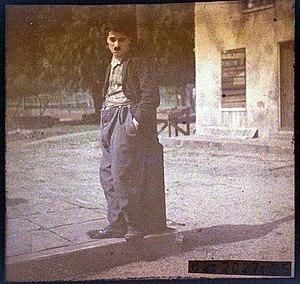 Portrait of Charlie Chaplin