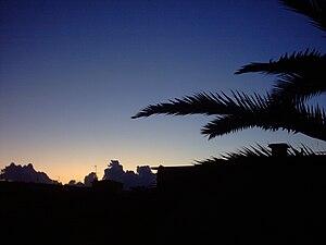 Italiano: Immagine di una mattina a Cogoleto