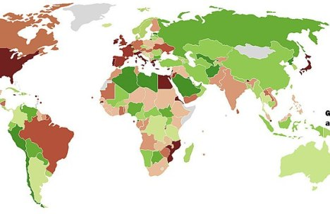 emerging market map