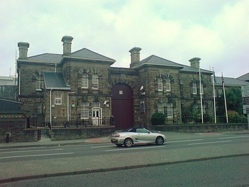 English: HM Prison, Swansea Home sweet home!