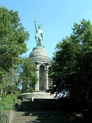 Monument of Hermann in Teutoburg Forest, Germany