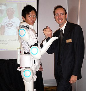 An electrically powered exoskeleton suit curre...