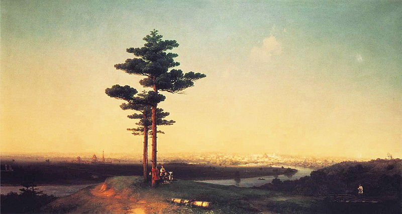 File:Ivan Constantinovich Aivazovsky - View of Moscow from the Sparrow Hills.JPG