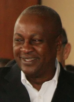 English: John Dramani Mahama, cropped from: UN...