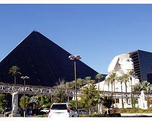 English: The Luxor Hotel in Las Vegas Nevada (...