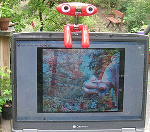 Minoru 3d webcam with screen shot
