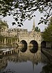 Pulteney Bridge, Bath, UK. Français : Pont Pul...