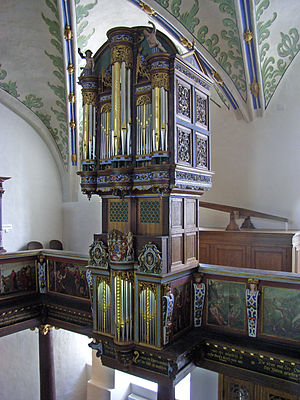 Deutsch: Orgel in Schloss Gottorf