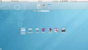 English: Screenshot showing KDE 4.4's new netb...