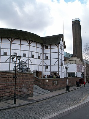 Recreation of Shakespeare's Globe Theatre in L...