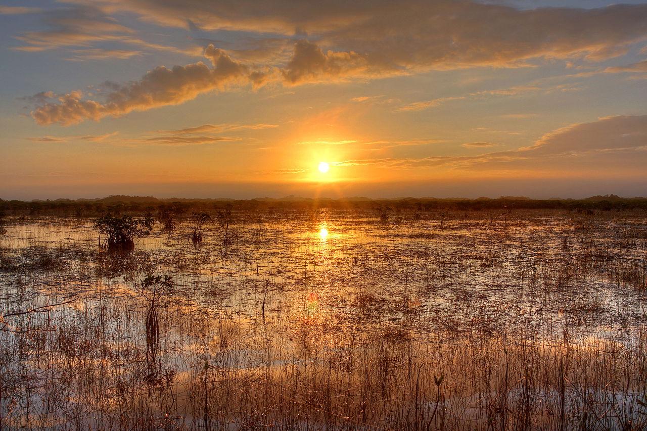 File Sunset Over The River Of Grass Npsphoto G Gardner
