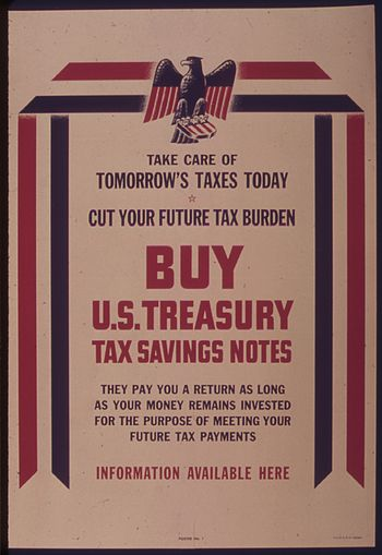 TAKE CARE OF TOMORROW'S TAXES TODAY - NARA - 5...