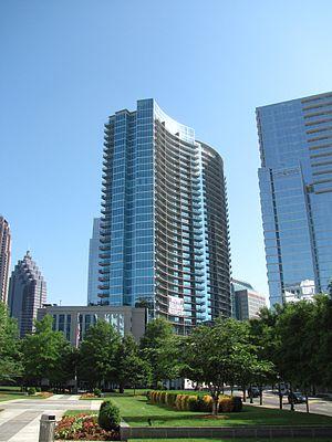 English: 1010 Midtown, Midtown Atlanta Georgia...