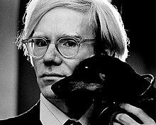 Jack Mitchell: Fotoporträt von Andy Warhol