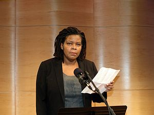 Annette Gordon-Reed announcing the five 2010 N...