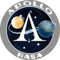 Saturn Apollo insignia
