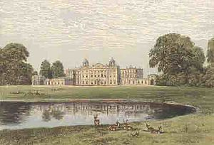 Badminton House: features of the Brownian land...