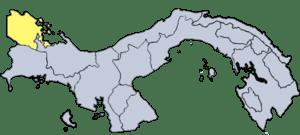 Provincia of Bocas del Toro in Panamá