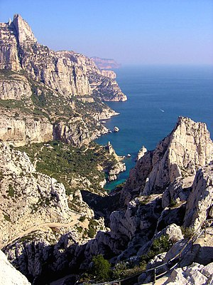 The Calanque of Sugiton in the 9th arrondissem...