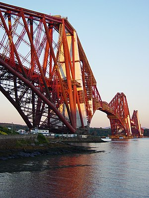 The Forth Railway Bridge taken by Euchiasmus (...
