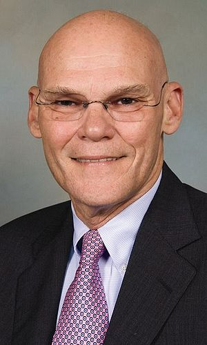 American political consultant James Carville.