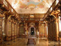 Melk - Abbey - Library