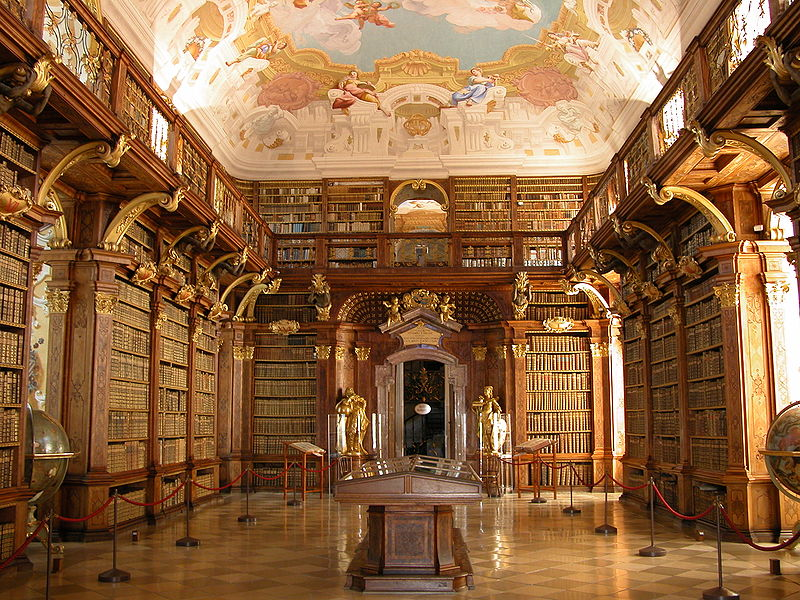 File:Melk - Abbey - Library.jpg