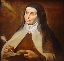 Teresa of Avila by Peter Paul Rubens