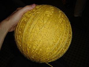 Gir's giant ball of yarn
