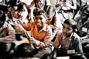 Dreaming child A workshop conducted by an NGO,...