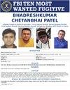 FBI Most Wanted Fugitive poster, Bhadreshkumar Chetanbhai Patel.pdf