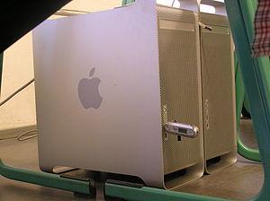 Apple G5s at the Lange Nacht der Wissenschafte...