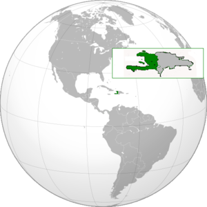 {{en|1={{en|1=Haiti}} Orthographic projection ...
