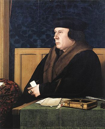Hans Holbein d. J. - Portrait of Thomas Cromwe...