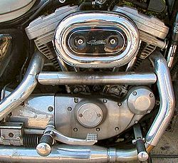 Harley-DavidsonV-twin à 45°, Evo Sportster