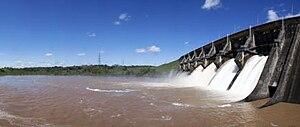 English: Represas Hidroeléctricas de Paraguay