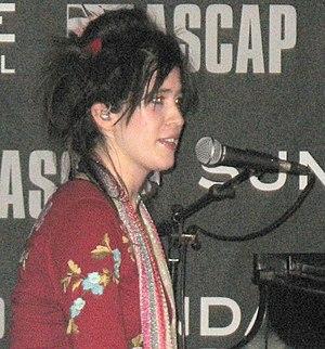 Imogen Heap at the Sundance film festival (cro...