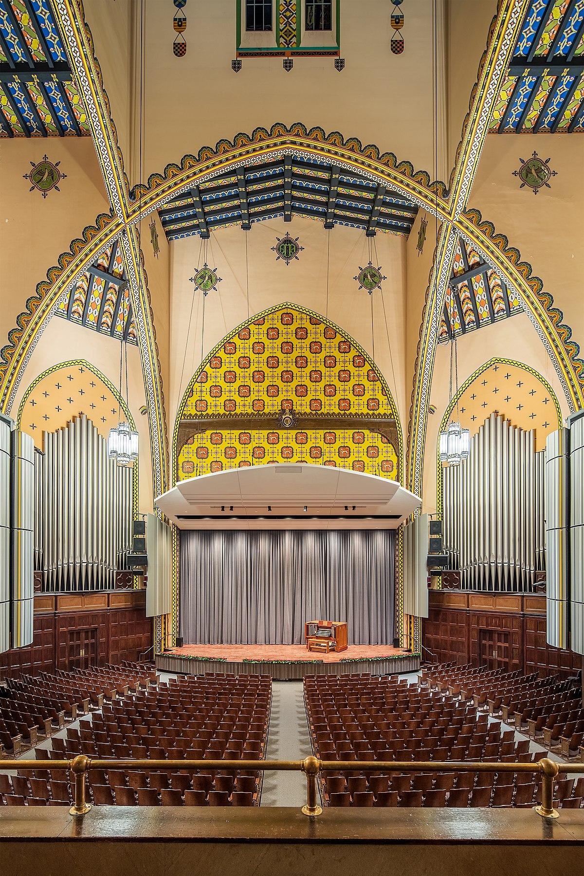 Irvine Auditorium Wikipedia - Seating Area