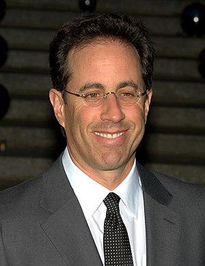 English: Jerry Seinfeld at Tribeca Film Festiv...