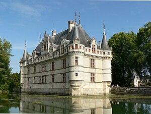 Château d'Azay-le-Rideau, Indre-et-Loire, France