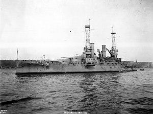 Photograph of the Battleship USS Michigan - NARA - 19-N-13573.jpg