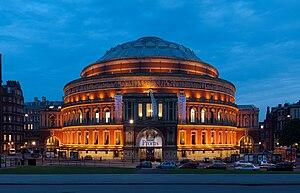 Photograph of the Royal Albert Hall, South Ken...