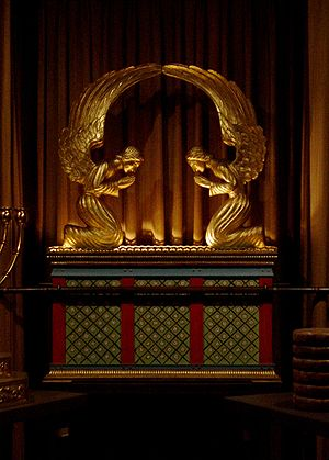 The Ark of the Covenant (replica in George Was...
