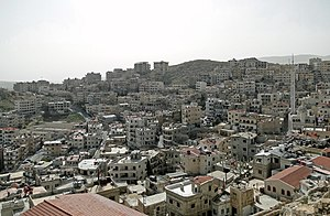 English: City of Saidnaya seen from the conven...