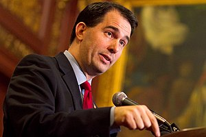 Scott Walker on February 18, 2011