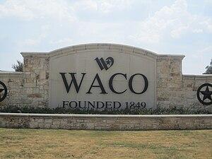 I took photo with Canon camera in Waco, TX.