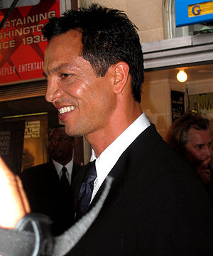 Benjamin Bratt, American actor talks with repo...