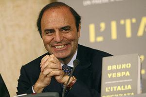 Italiano: Bruno Vespa alla presentazione del s...