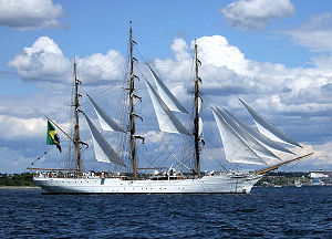 Brazilian Tall Ship Cisne Branco photo taken b...